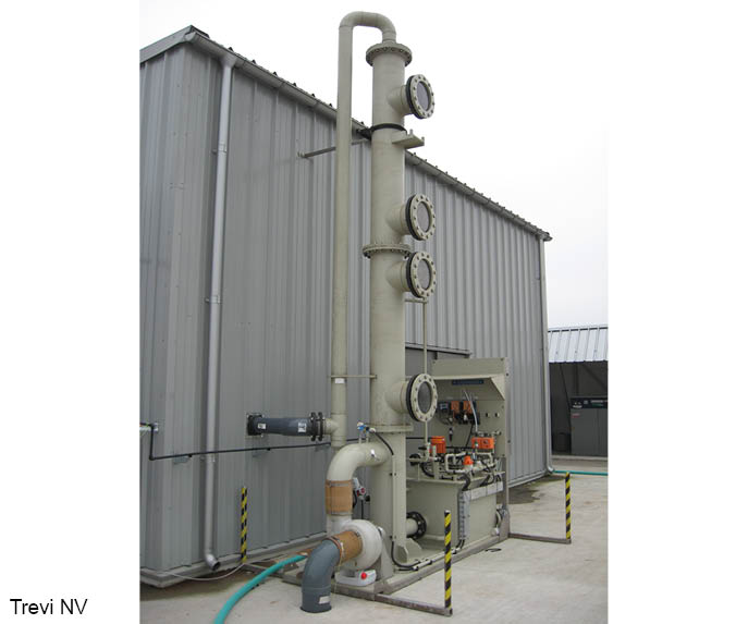Air Treatment - Lavador oxidativo H2S