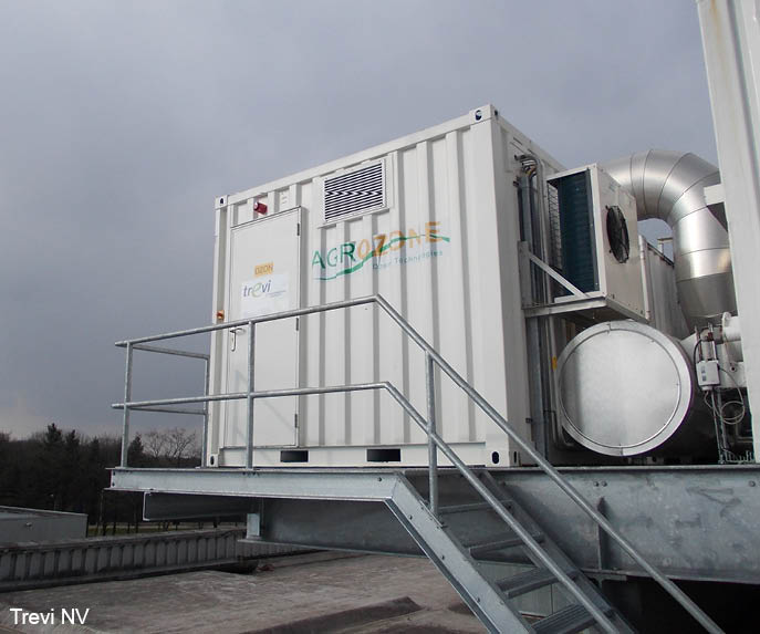 Air Treatment - Ozone injection voor Odorbestrijding