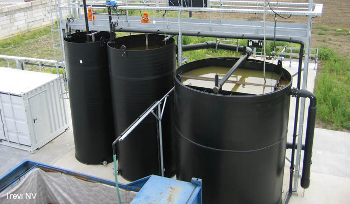 Physicochemical rain water treatment for reuse